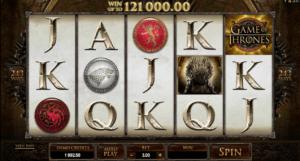 online slots game of thrones 5 reel slot