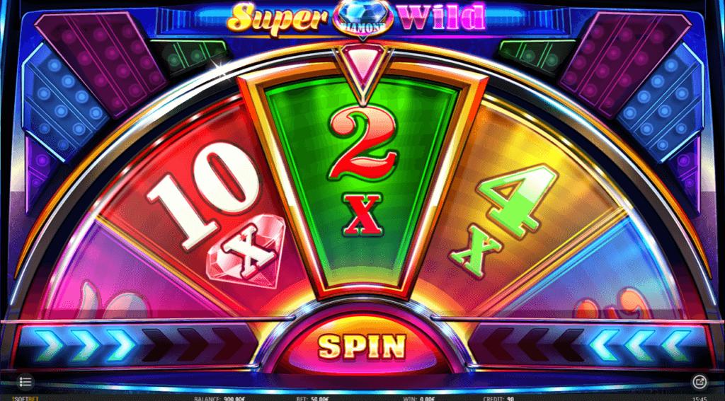 super diamond wild bonus wheel