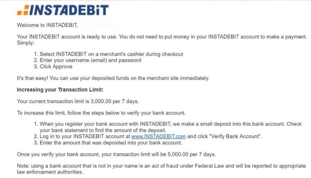 How To Make A InstaDebit Deposit what is instadebit